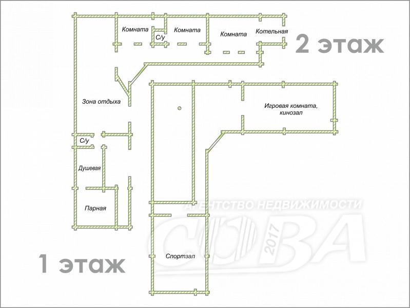 Объявление. г. Тюмень, Частный дом, 300 кв.м. на участке 10.5 сот.. Фото 1