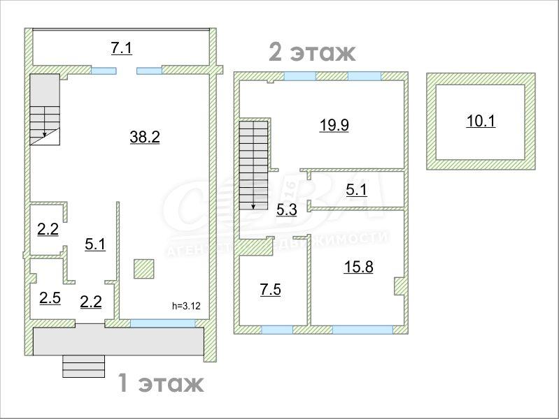 Объявление. г. Тюмень, Частный дом, 123 кв.м. на участке 1 сот.. Фото 1