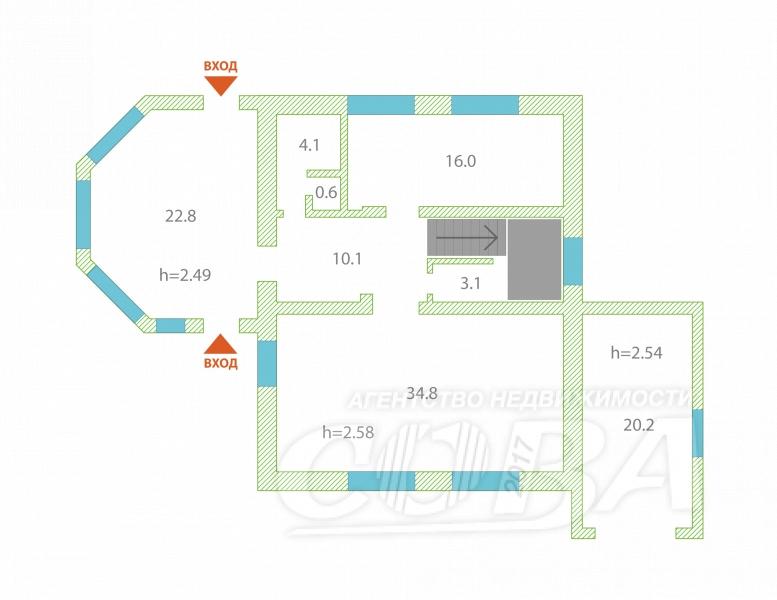 Объявление. г. Тюмень, Частный дом, 300 кв.м. на участке 10.5 сот.. Фото 2