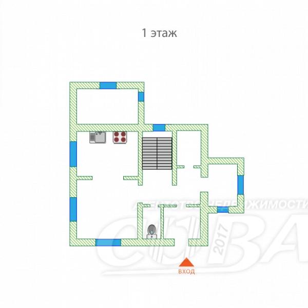 Объявление. г. Тюмень, Частный дом, 210 кв.м. на участке 15 сот.. Фото 2